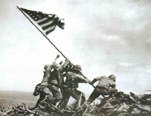 Anniversary of a Great Climb: Iwo Jima | Ours is a Different Mountain