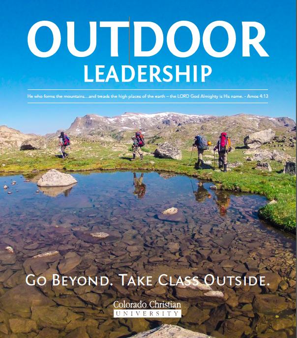 Take Class Outside  Outdoor Leadership Program @ CCU